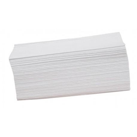 Ręcznik w składce ZZ biały.
