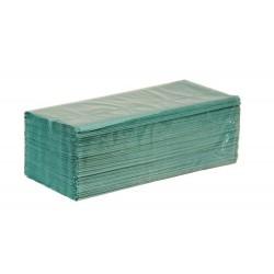 Ręcznik w składce ZZ zielony.