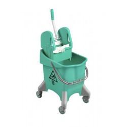 Wózek z wyciskarką szczękową 'PILE' 30L TEC.