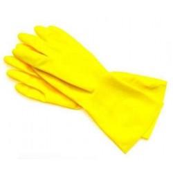 Rękawice gumowe XL.