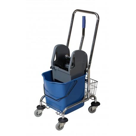 Wózek jednowiaderkowy 23L z wyciskarką.