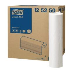 Podkład medyczny w roli Tork Advanced biały.