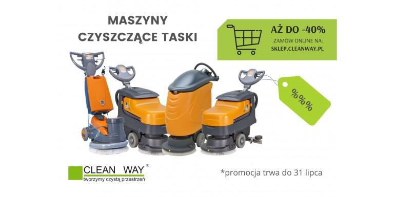 Promocja na maszyny czyszczące Taski aż do -40%